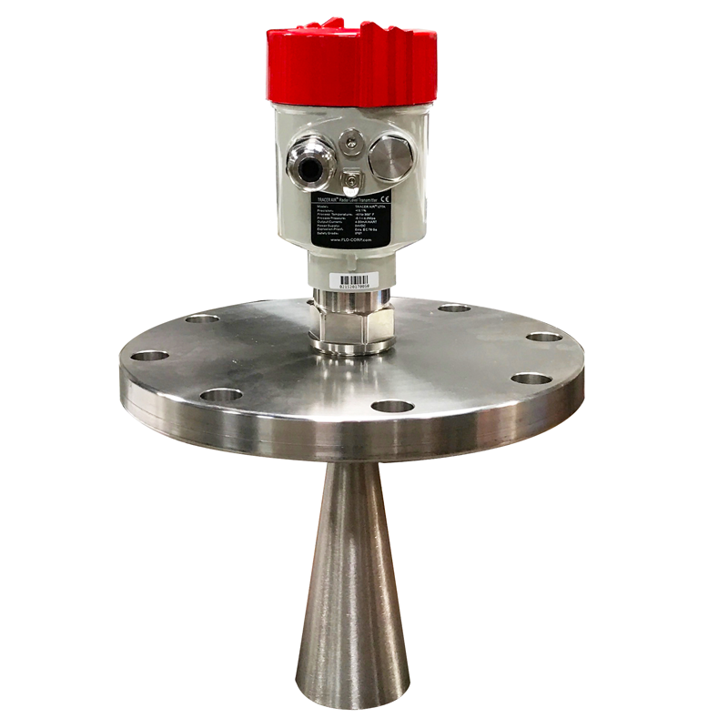 Tracer Air Radar Level Transmitter with Flange