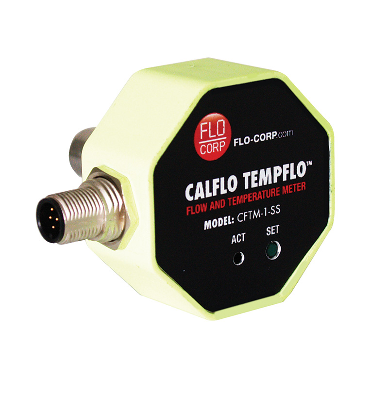 FLO-CORP CALFLO CFTM THERMAL MASS FLOW AND TEMPERATURE METER