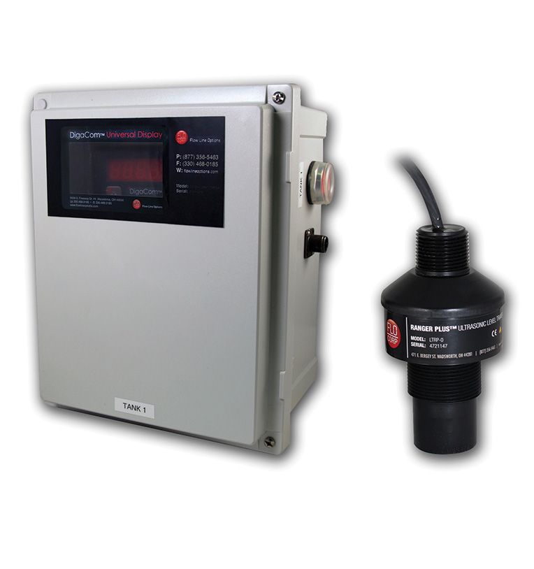 Gravitational Force Fluid Flow: ChannelFlo™ UOCM Ultrasonic Open Channel Flow Meter