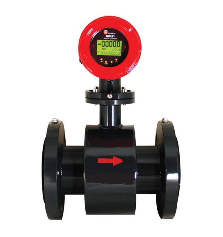FLO-CORP MAGFLO MMFM MAGNETIC FLOW METER