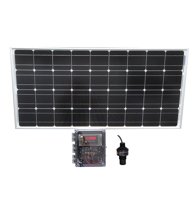 FLO-CORP ACCUSOLAR SOLAR POWERED LEVEL MONITORING SYSTEM