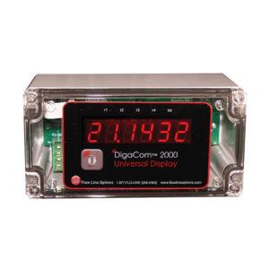 FLO-CORP DIGACOM 2000 DCX2 Digital Process Meter Monitor