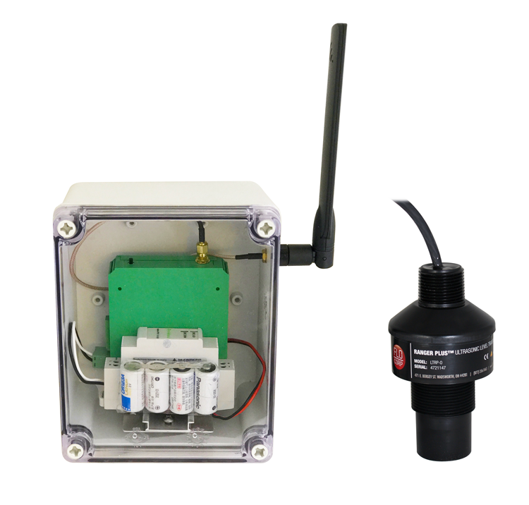 AccuTank Wireless Ultrasonic Level Monitoring System