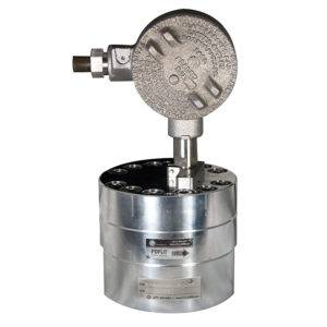 FLO-CORP PDFLO PDSG1 POSITIVE DISPLACEMENT SPUR GEAR FLOW METER