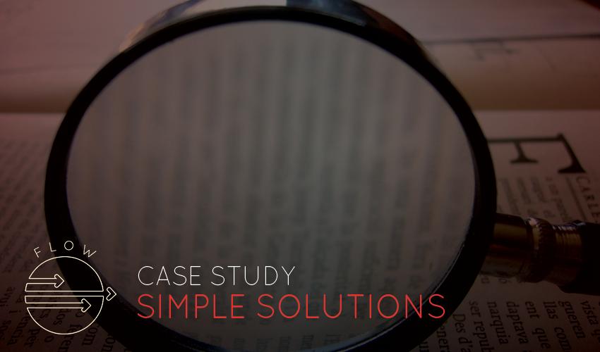Simple Flow Meter Solutions