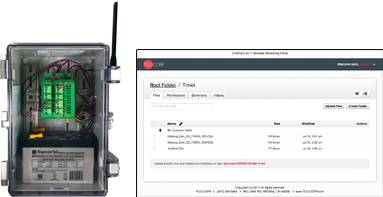 CONNEX 3D Wireless Cellular Process Monitor