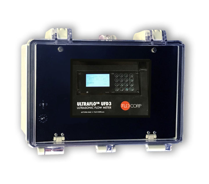 UFD3 Fixed Ultrasonic Flow Meter