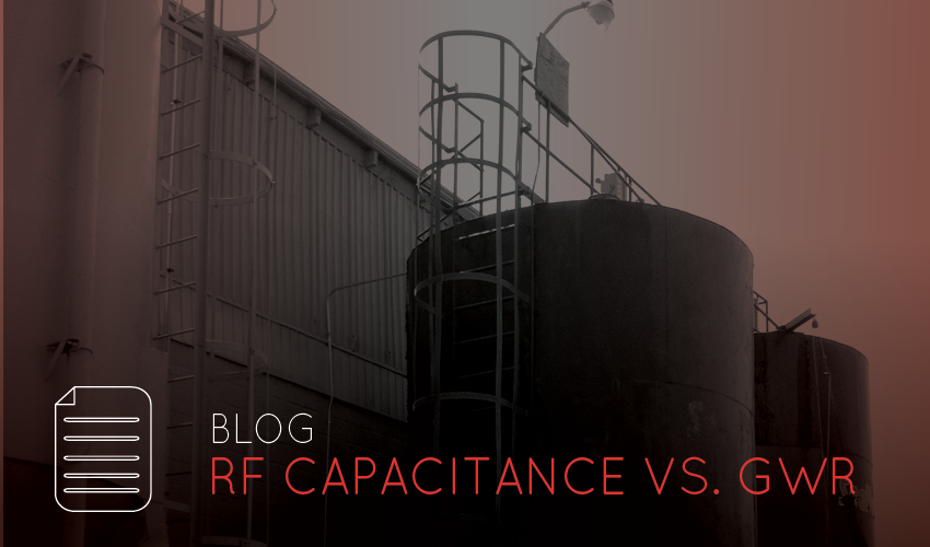 RF Capacitance vs. GWR