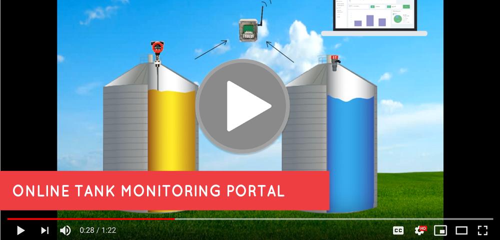 Online Tank Monitoring Portal